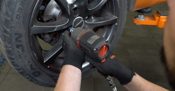 Wie man PEUGEOT 207 1.6 16V VTi 2010 Radlager wechselt - Einfach nachzuvollziehende Tutorials online