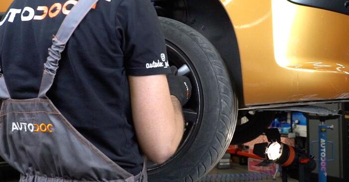Wie Bremsscheiben Peugeot 207 WA 1.4 HDi 2006 tauschen - Kostenlose PDF- und Videoanleitungen