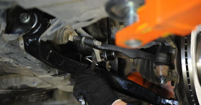 Stabilisatorstang zelf wisselen VW Multivan T5 2013 2.5 TDI