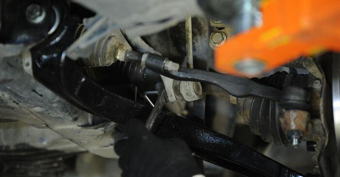 VW MULTIVAN 2010 Stabilisatorstang stap voor stap instructies voor vervanging