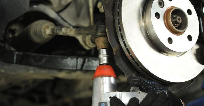 Hoe lang duurt het wisselen van Stuurkogel VW Multivan T5 2011 – informatieve pdf-gebruiksaanwijzing