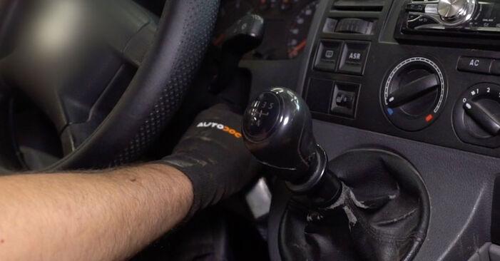 Interieurfilter zelf wisselen VW Multivan T5 2013 2.5 TDI