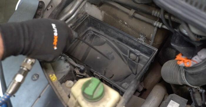 Luchtfilter VW MULTIVAN 2.0 TDI vervangen: online leidraden en videohandleidingen