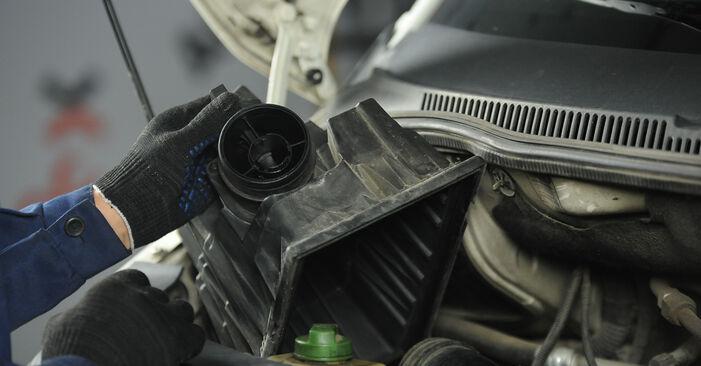 Hoe Luchtfilter VW Multivan V (7HM, 7HN, 7HF, 7EF, 7EM, 7EN) 2015 wisselen – raad en uitleg