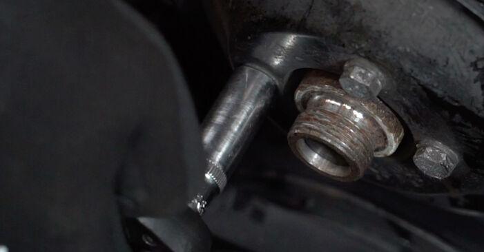 Wasserpumpe + Zahnriemensatz BMW E36 325i 2.5 1992 wechseln: Kostenlose Reparaturhandbücher