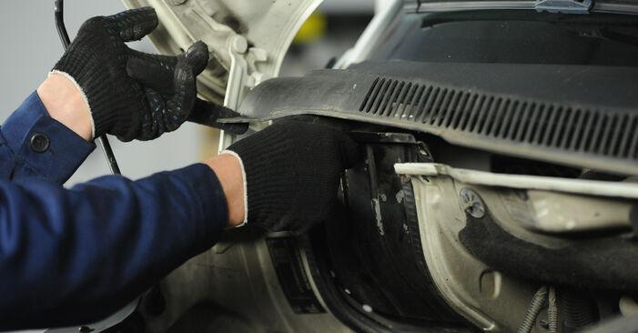 VW MULTIVAN 1.9 TDI Federn ausbauen: Anweisungen und Video-Tutorials online