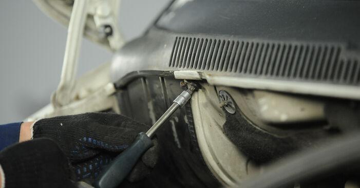 Hoe VW Multivan T5 2003 Veerpootlager vervangen – kosteloze pdf-handleidingen en tutorials