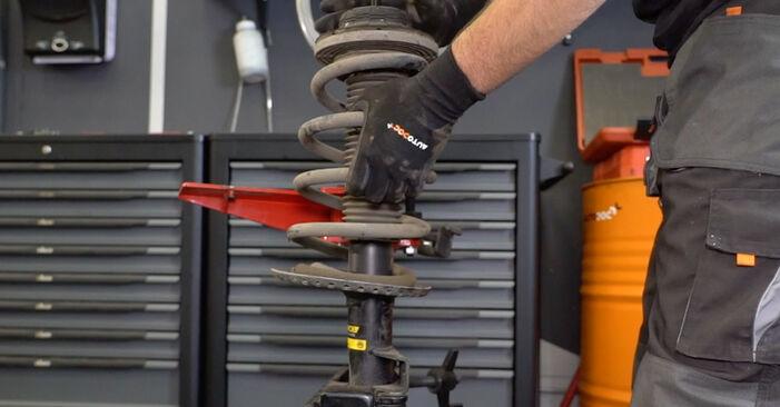 Hoe moeilijk is doe-het-zelf: Veerpootlager wisselen VW Multivan T5 2.0 2009 – download geïllustreerde instructies