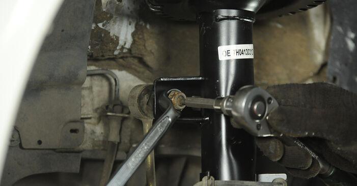 Hoe lang duurt het wisselen van Veerpootlager VW Multivan T5 2011 – informatieve pdf-gebruiksaanwijzing