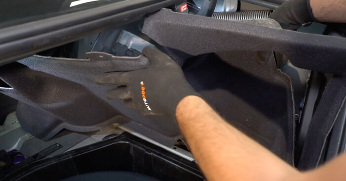 Stoßdämpfer Ihres Mercedes W203 C 200 1.8 Kompressor (203.042) 2000 selbst Wechsel - Gratis Tutorial