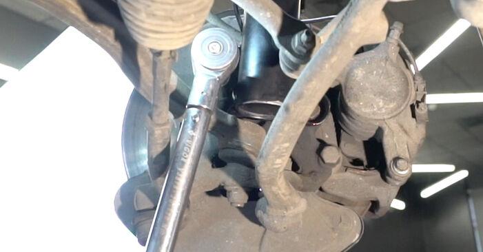 Domlager Mercedes W203 C 220 CDI 2.2 (203.008) 2002 wechseln: Kostenlose Reparaturhandbücher