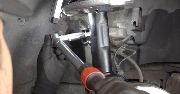 Comment changer Ressort d'Amortisseur sur Mercedes W203 2000 - Manuels PDF et vidéo gratuits