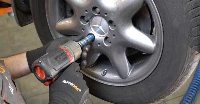 À quel point est-il difficile de le faire soi-même : télécharger le guide illustré pour le changement de Ressort d'Amortisseur sur Mercedes W203 C 200 2.0 Kompressor (203.045) 2006