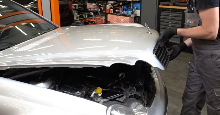 Kaip pakeisti Amortizatorius la Mercedes W203 2000 - nemokamos PDF ir vaizdo pamokos