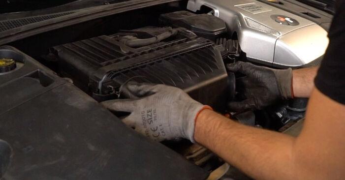 Schritt-für-Schritt-Anleitung zum selbstständigen Wechsel von Lexus RX XU30 2004 3.5 Luftfilter