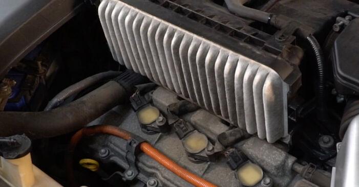 Luftfilter Ihres Lexus RX XU30 3.3 400h AWD 2005 selbst Wechsel - Gratis Tutorial