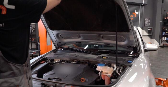 Hvordan skifte Drivstoffilter på Audi A6 4f2 2004 – gratis PDF- og videoveiledninger