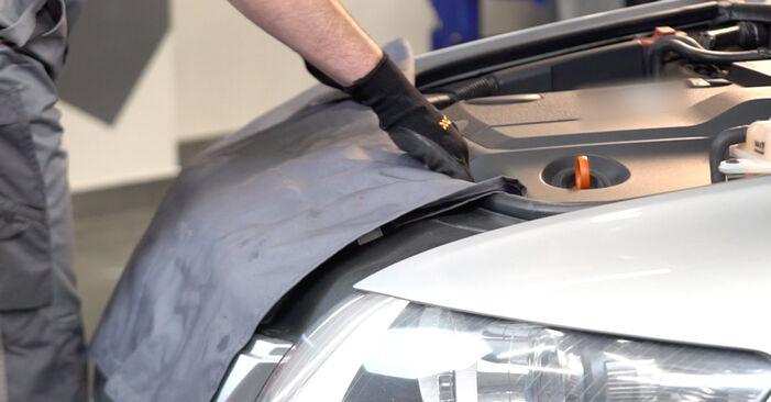 Slik bytter du AUDI A6 Sedan (4F2, C6) 3.0 TDI quattro 2005 Drivstoffilter selv – trinn-for-trinn veiledninger og videoer