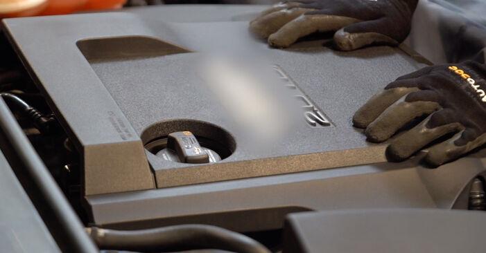 Vanskelighetsgrad: Bytte av Drivstoffilter på Audi A6 4f2 3.0 TDI quattro 2010 – last ned illustrert veiledning