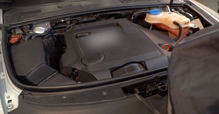 A6 Limousine (4F2, C6) 2.0 TFSI 2007 Luftfilter - Tutorial zum selbstständigen Teilewechsel