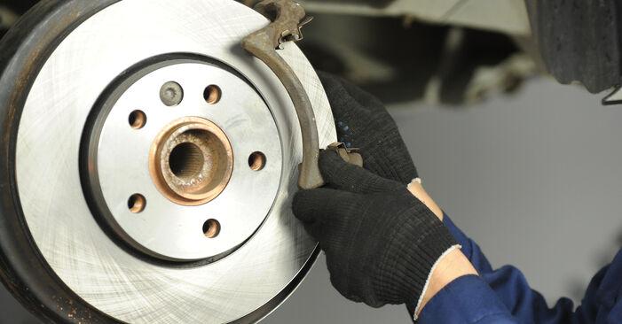 Bremsscheiben Ihres T5 Multivan 2.0 TDI 2011 selbst Wechsel - Gratis Tutorial