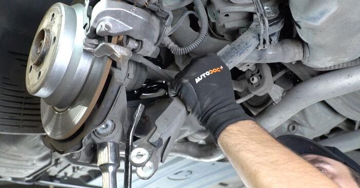 E-osztály Sedan (W211) E 280 CDI 3.0 (211.020) 2005 Lengőkar csináld magad csere szervizelési útmutató
