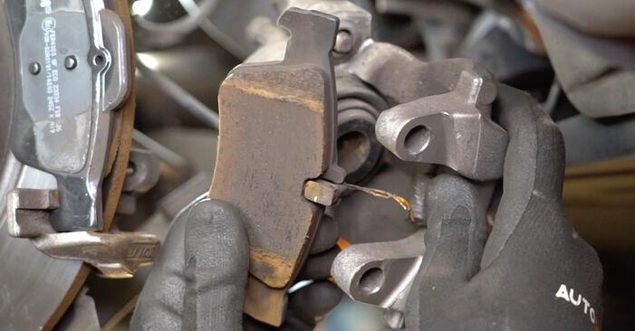 Podrobná doporučení pro svépomocnou výměnu Mercedes W211 2007 E 280 CDI 3.0 (211.020) Brzdovy kotouc