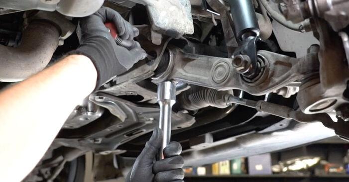 Kaip pakeisti Amortizatorius la Mercedes W211 2002 - nemokamos PDF ir vaizdo pamokos
