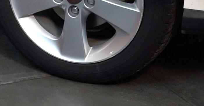 Kiek užtrunka keitimas: VW Multivan T5 2011 Stabdžių diskas - informatyvi PDF instrukcija