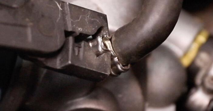 Tausch Tutorial Thermostat am ALFA ROMEO 147 (937) 2001 wechselt - Tipps und Tricks