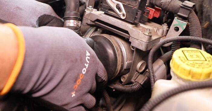 Wie schwer ist es, selbst zu reparieren: Thermostat Alfa Romeo 147 937 2.0 16V T.SPARK 2006 Tausch - Downloaden Sie sich illustrierte Anleitungen