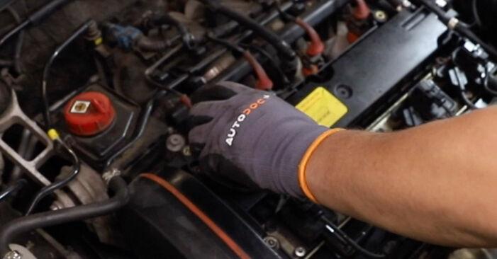 Schritt-für-Schritt-Anleitung zum selbstständigen Wechsel von Alfa Romeo 147 937 2002 1.9 JTDM 16V (937.AXN1B, 937.BXN1B) Thermostat