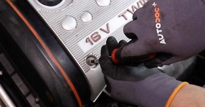 Wie Thermostat ALFA ROMEO 147 (937) 1.9 JTD 2001 austauschen - Schrittweise Handbücher und Videoanleitungen