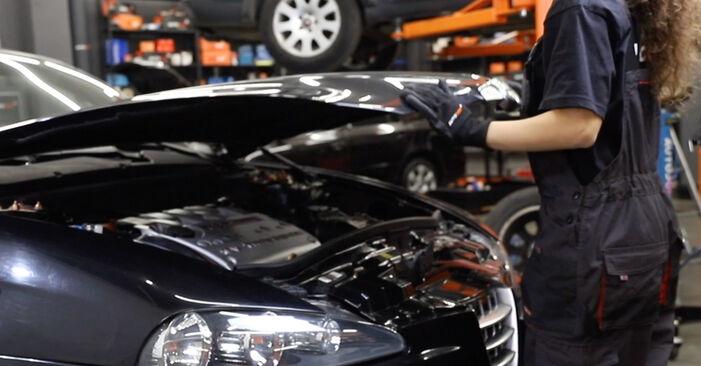 Schritt-für-Schritt-Anleitung zum selbstständigen Wechsel von Alfa Romeo 147 937 2002 1.9 JTDM 16V (937.AXN1B, 937.BXN1B) Zündkerzen