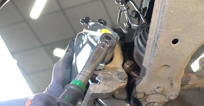 Bremssattel Opel Astra H Limousine 1.3 CDTi (L69) 2002 wechseln: Kostenlose Reparaturhandbücher