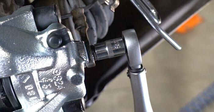 Wie schwer ist es, selbst zu reparieren: Bremssattel Opel Astra H Limousine 1.6 (L69) 2006 Tausch - Downloaden Sie sich illustrierte Anleitungen