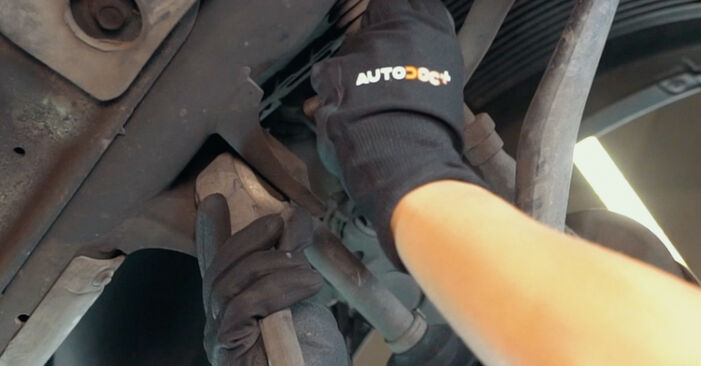 Changing of Control Arm on BMW X3 E83 2011 won't be an issue if you follow this illustrated step-by-step guide