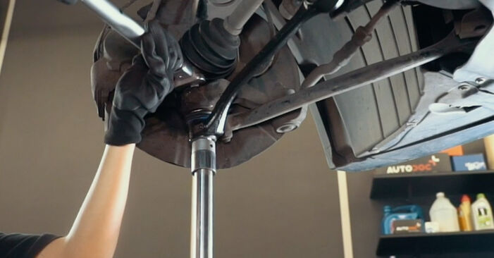 Changing Control Arm on BMW X3 (E83) 3.0 i xDrive 2006 by yourself