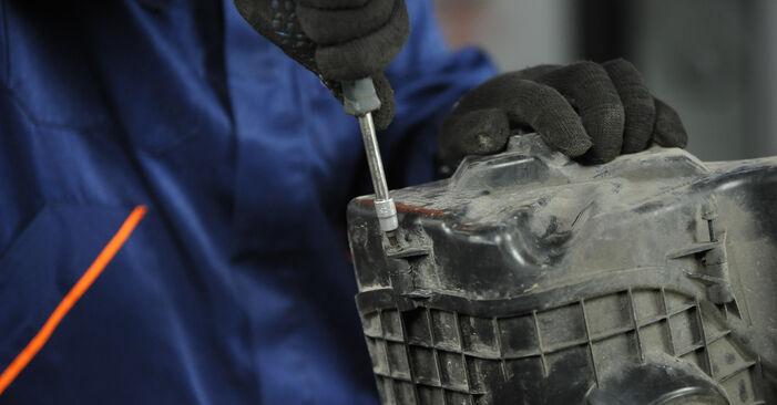 Recomendações passo a passo para a substituição de BMW E90 2009 325i 2.5 Filtro de Ar por si mesmo