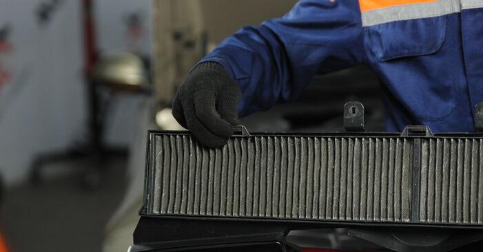 Wie BMW 3 SERIES 325i 2.5 2008 Innenraumfilter ausbauen - Einfach zu verstehende Anleitungen online