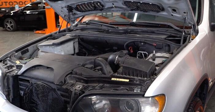 Jak vyměnit Vzduchovy filtr na BMW E53 2000 - bezplatné PDF a video návody