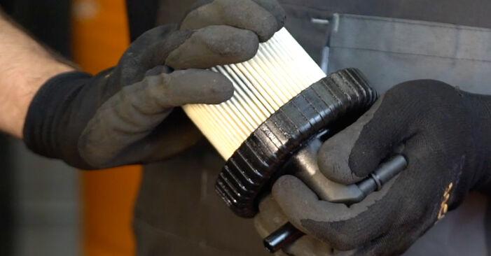 XSARA PICASSO (N68) 1.6 16V 2010 1.6 HDi Kraftstofffilter - Handbuch zum Wechsel und der Reparatur eigenständig
