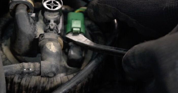 Kraftstofffilter am CITROËN XSARA PICASSO (N68) 2.0 16V 2004 wechseln – Laden Sie sich PDF-Handbücher und Videoanleitungen herunter