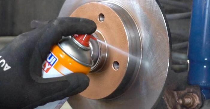 Bremsbeläge am PEUGEOT 207 (WA_, WC_) 1.6 16V 2011 wechseln – Laden Sie sich PDF-Handbücher und Videoanleitungen herunter