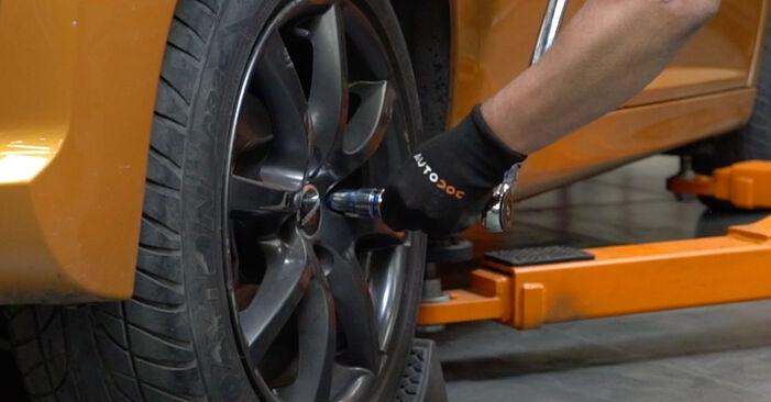 Bremsbeläge Ihres Peugeot 207 WA 1.6 HDi 2014 selbst Wechsel - Gratis Tutorial