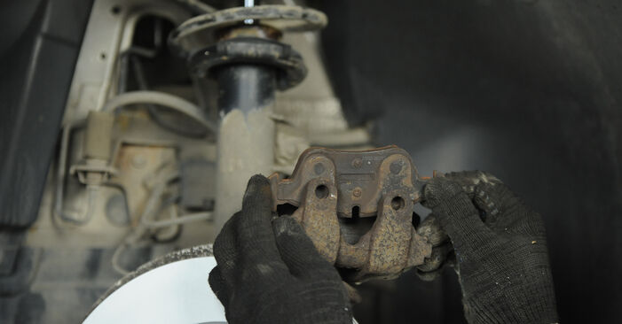 Replacing Brake Pads on BMW E90 2006 320d 2.0 by yourself