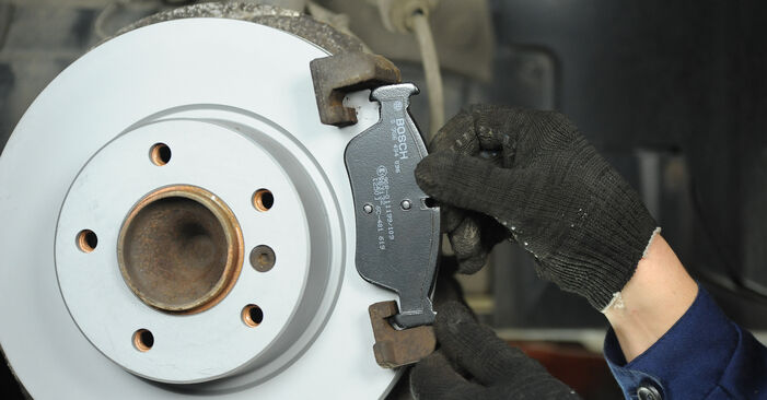 How to change Brake Pads on BMW E90 2004 - free PDF and video manuals