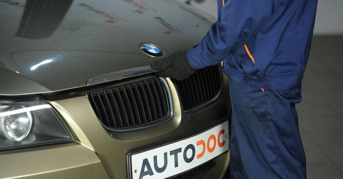 Schritt-für-Schritt-Anleitung zum selbstständigen Wechsel von BMW E90 2009 325i 2.5 Federn