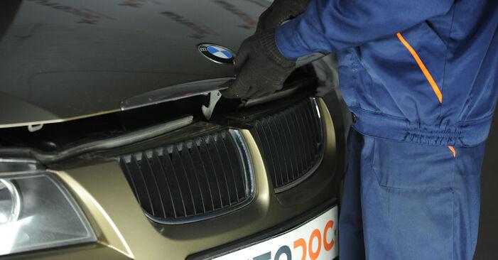Federn BMW E90 318d 2.0 2006 wechseln: Kostenlose Reparaturhandbücher