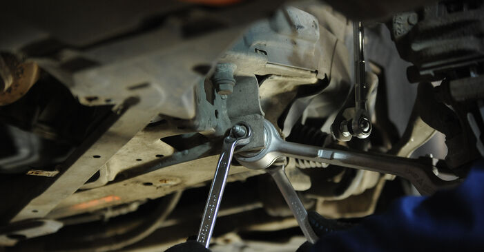 Federn beim BMW 3 SERIES 320d 2.0 2011 selber erneuern - DIY-Manual